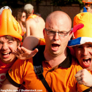 StemPunt Poll - Wie wint dinsdag de achtste finale voetbal, Nederland of Japan? - Nederland